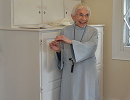 Sr. Carolyn of the Sisters of St. Margaret