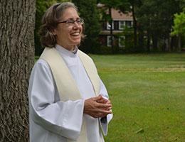 Sister Sarah a Sister of St. Margaret