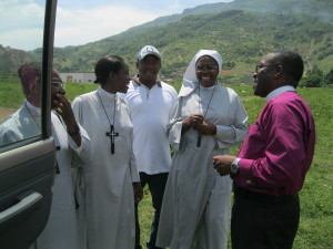 The Sisters in Haiti visiting Cap Haiten