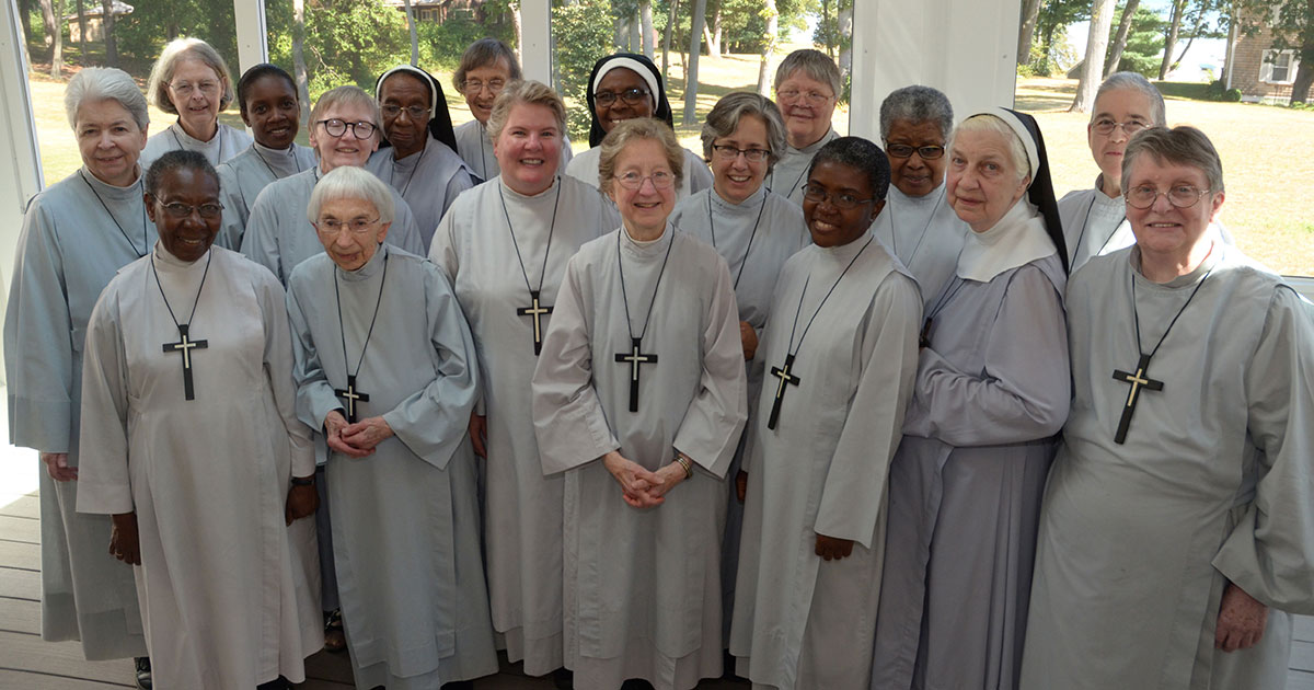 Group Photo of the Sisters of St. Margaret