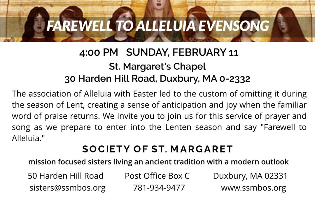 Farewell to Alleluia Evensong