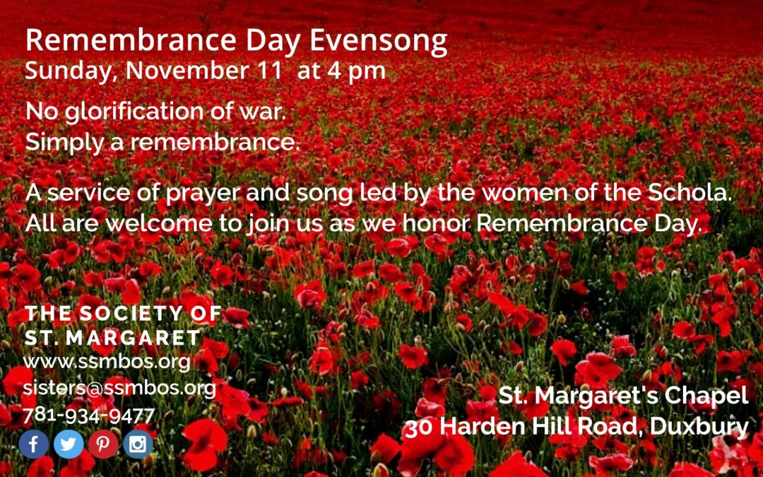 Remembrance Day Evensong