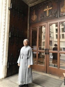 Sr. Promise of the Sisters of St. Margaret is a Candidate in the Ordination of Transitional Deacons